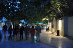 A night in Athens, walk to Areopagus